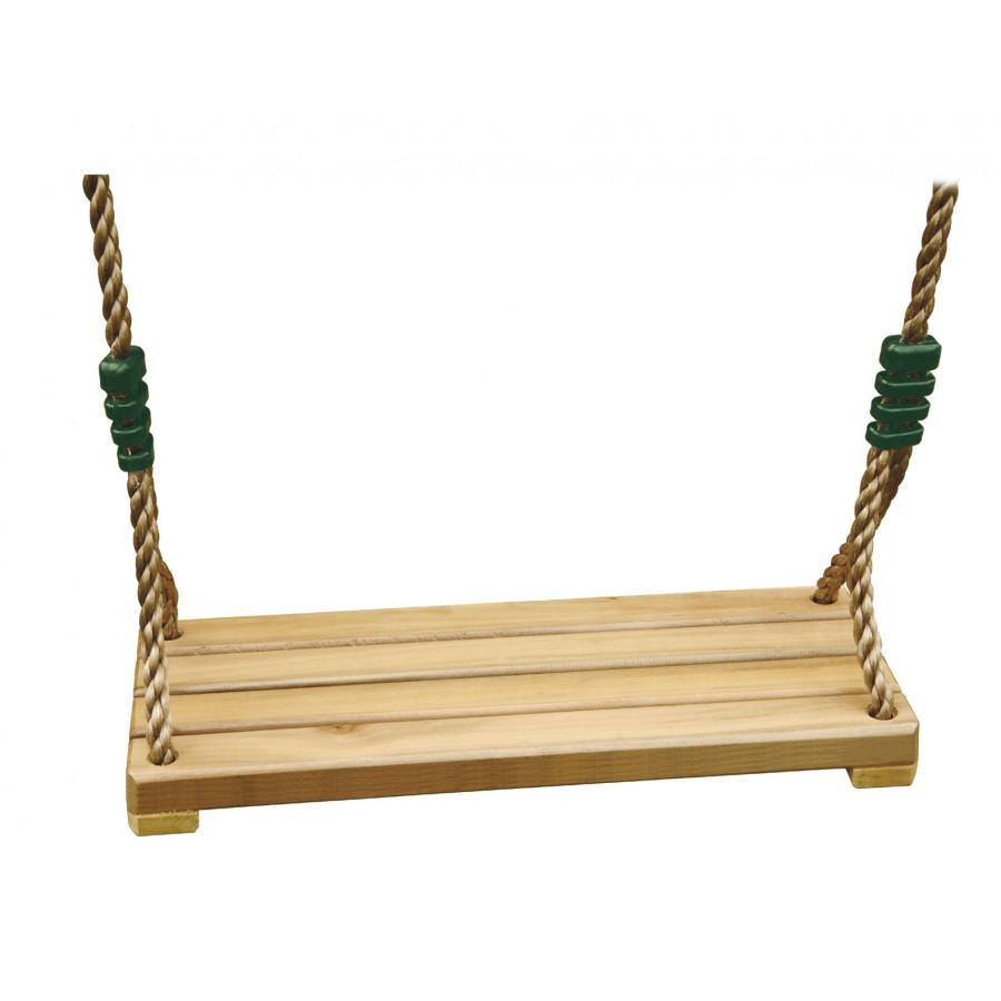 Siege balancoire bois adulte cirque et balancoire for Portique bois pas cher