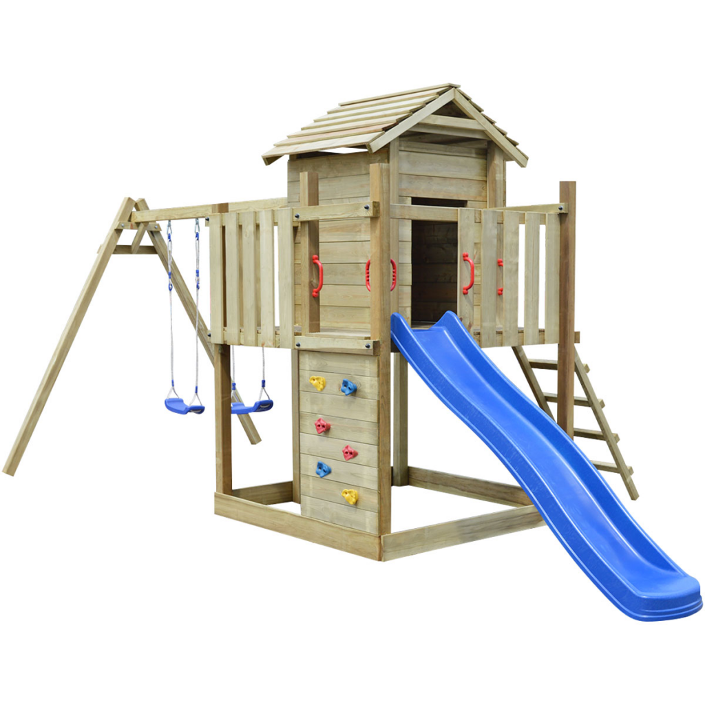 aire de jeux avec balancoire cirque et balancoire. Black Bedroom Furniture Sets. Home Design Ideas