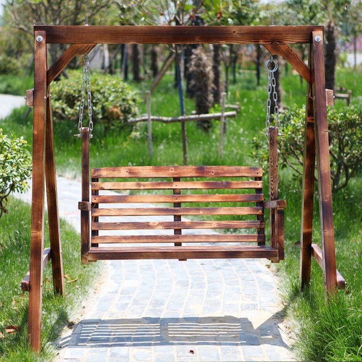 balancoire exterieur en bois cirque et balancoire. Black Bedroom Furniture Sets. Home Design Ideas