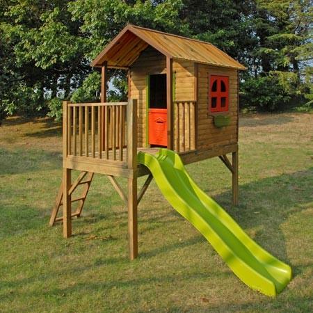 cabane et toboggan de jardin cirque et balancoire. Black Bedroom Furniture Sets. Home Design Ideas