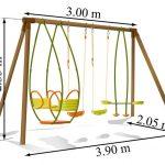 Dimension balancoire bois