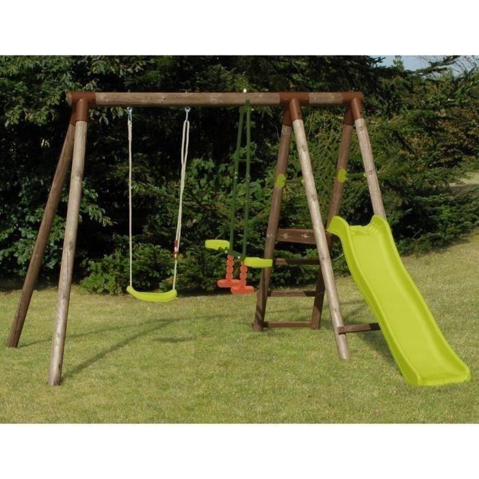 balancoire bois soulet cirque et balancoire. Black Bedroom Furniture Sets. Home Design Ideas