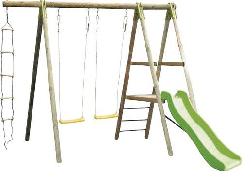 leclerc portique balancoire bois abri de jardin et. Black Bedroom Furniture Sets. Home Design Ideas