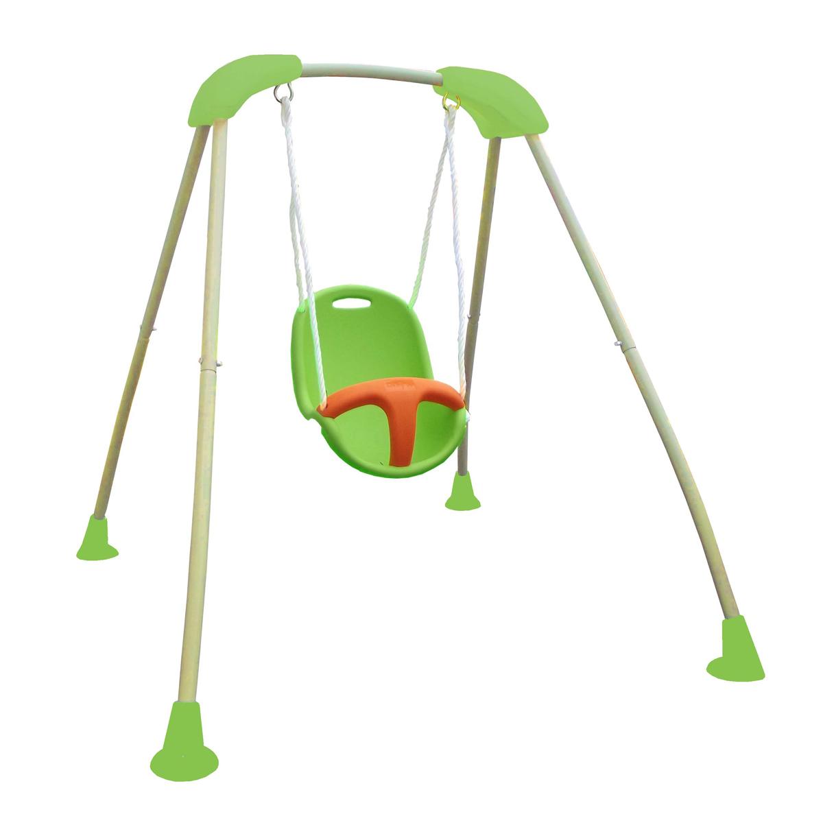 petite balancoire bebe abri de jardin et balancoire id e. Black Bedroom Furniture Sets. Home Design Ideas