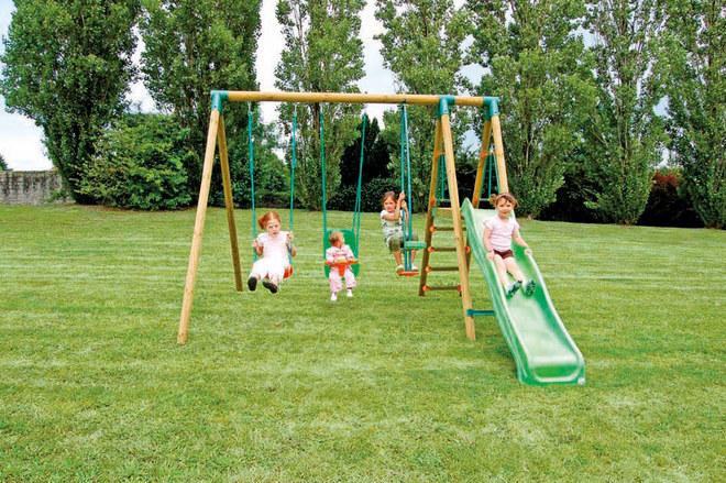 balancoire pour enfant abri de jardin et balancoire id e. Black Bedroom Furniture Sets. Home Design Ideas