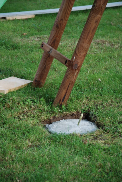 Fixation balancoire bois abri de jardin et balancoire id e - Balancoire bois belgique ...