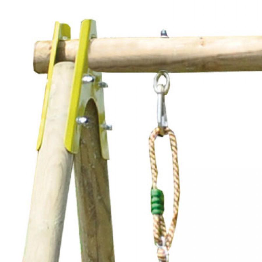 poteau bois rond pour portique abri de jardin et balancoire id e. Black Bedroom Furniture Sets. Home Design Ideas