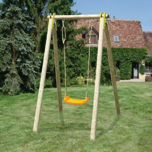 balancoire enfant en bois abri de jardin et balancoire id e. Black Bedroom Furniture Sets. Home Design Ideas