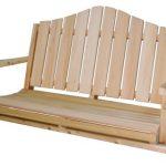 Balancoire 2 places en bois