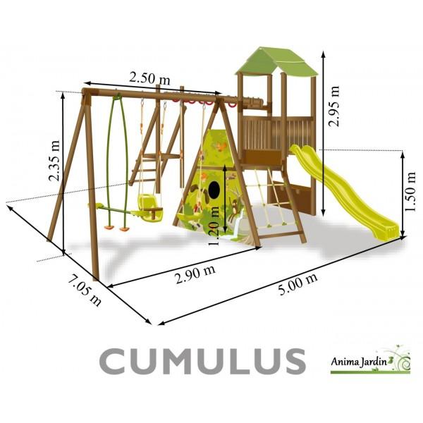 toboggan avec balancoire pas cher abri de jardin et balancoire id e. Black Bedroom Furniture Sets. Home Design Ideas