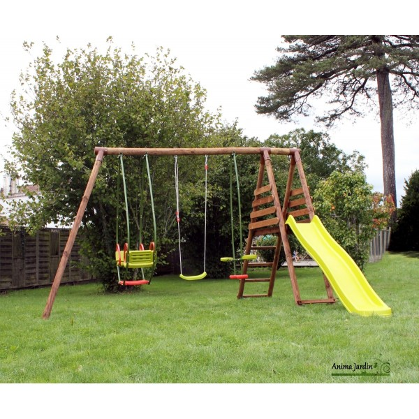 Portique pas cher abri de jardin et balancoire id e - Abri de jardin en fer pas cher ...