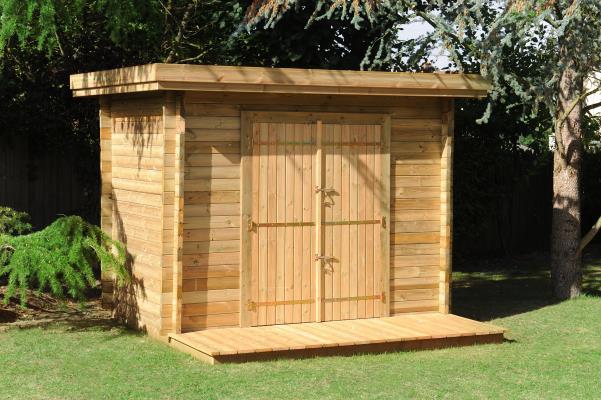 Abri de jardin avec plancher - Abri de jardin et balancoire idée