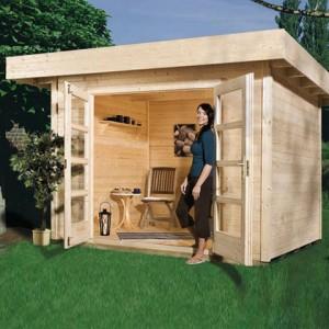 abris jardin design bois abri de jardin et balancoire id e. Black Bedroom Furniture Sets. Home Design Ideas