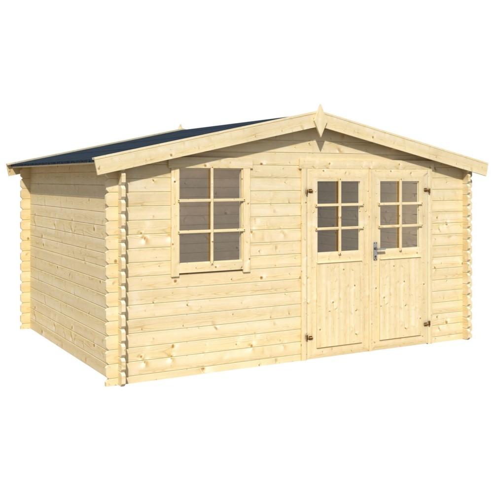 abri de jardin en bois 10m2 abri de jardin et balancoire id e. Black Bedroom Furniture Sets. Home Design Ideas