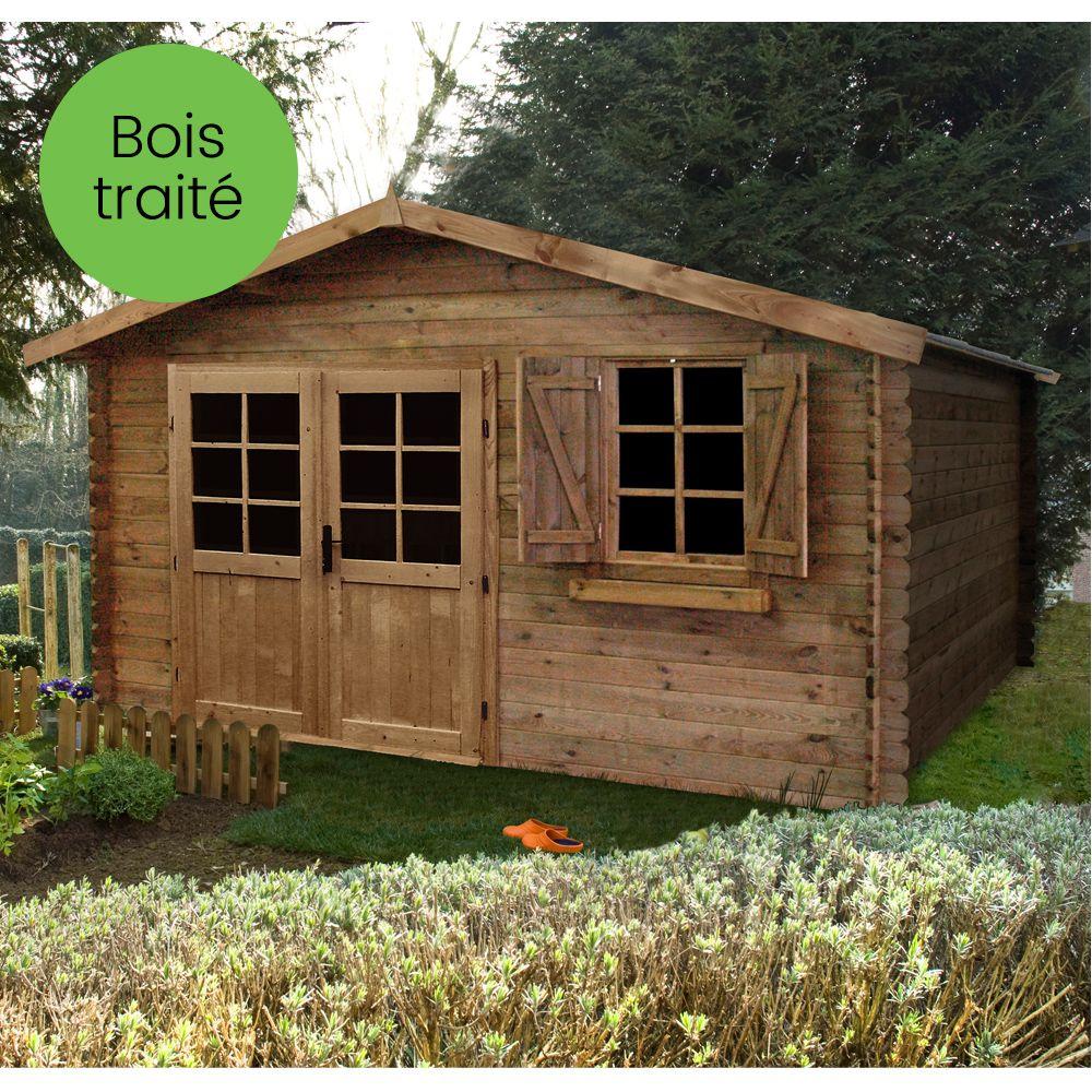 Awesome Abri De Jardin En Bois Reunion Ideas - House Design ...