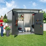 Abri jardin aluminium double paroi