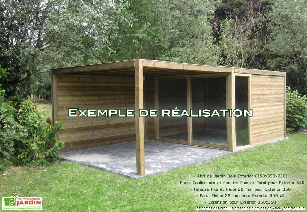 Abri De Jardin Pour Terrasse Abri De Jardin Et Balancoire Idee