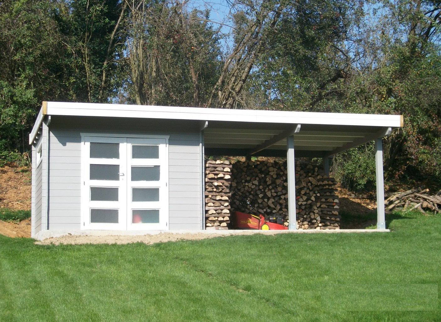 Cabane de jardin belgique - Abri de jardin et balancoire idée