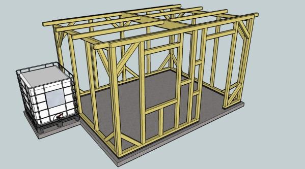 comment construire une cabane de jardin abri de jardin et balancoire id e. Black Bedroom Furniture Sets. Home Design Ideas
