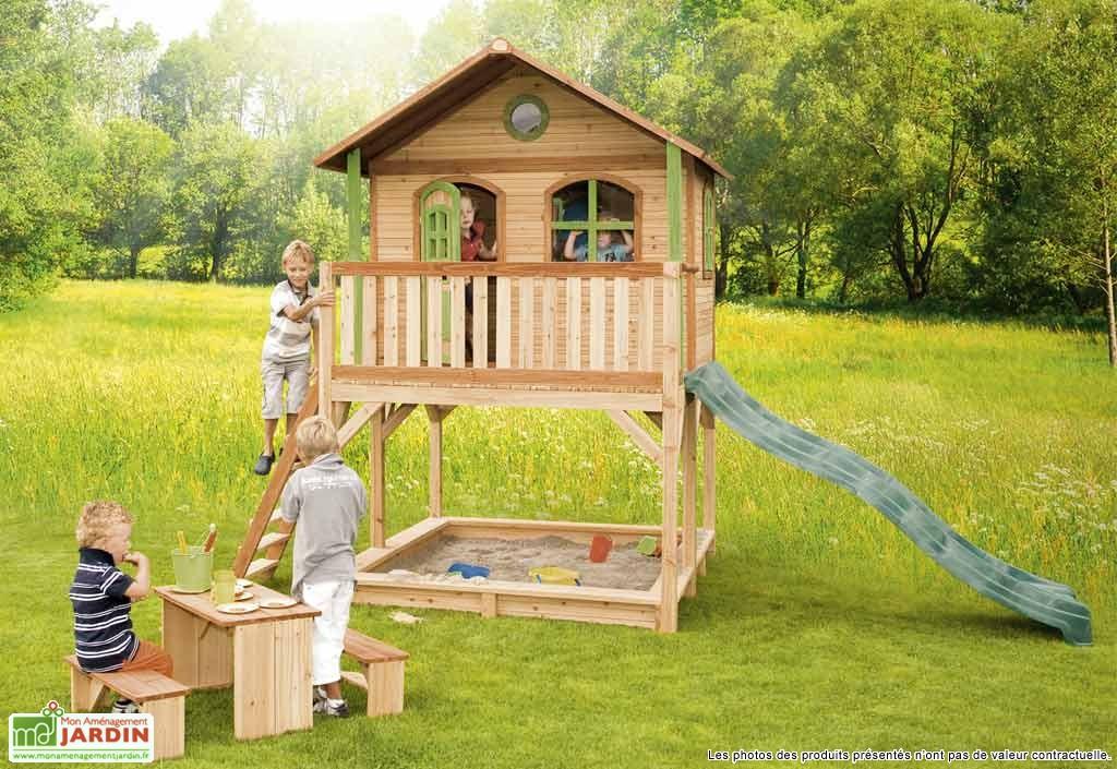 Maison en bois de jardin