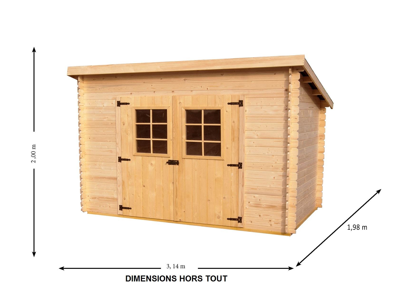 abri de jardin de 5m2 abri de jardin et balancoire id e. Black Bedroom Furniture Sets. Home Design Ideas