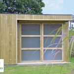Abri de jardin habitable design