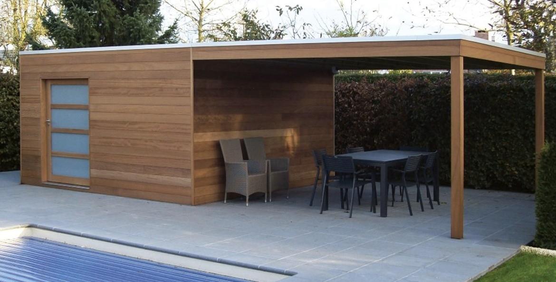 Abri De Jardin Design Toit Plat