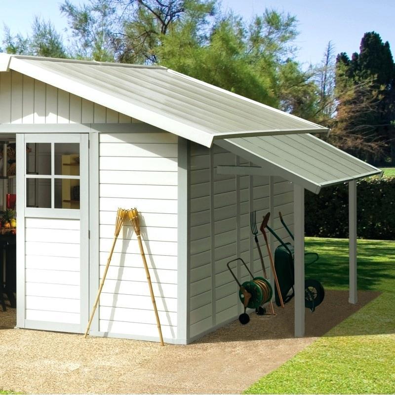 keter abris de jardin pvc horizon 77 abri de jardin et. Black Bedroom Furniture Sets. Home Design Ideas