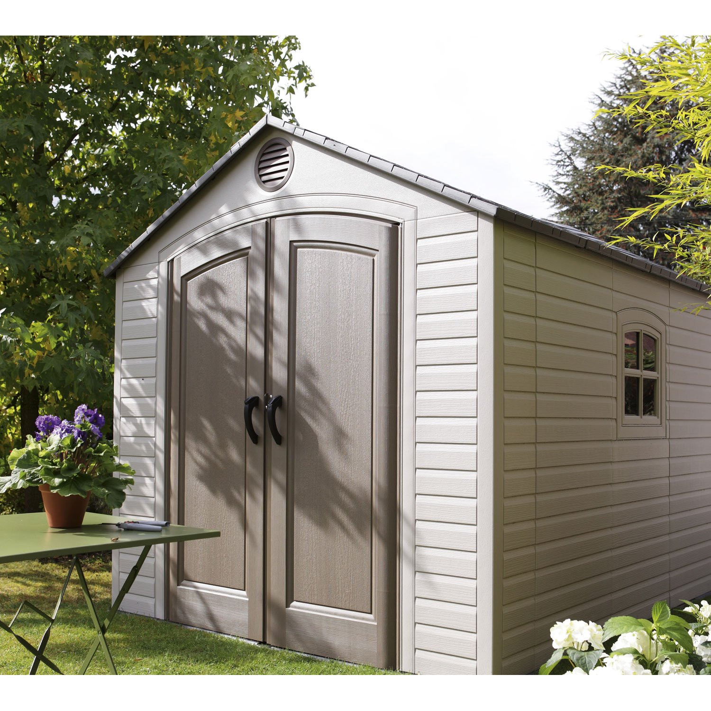 abri de jardin pvc sentinel abri de jardin et balancoire id e. Black Bedroom Furniture Sets. Home Design Ideas