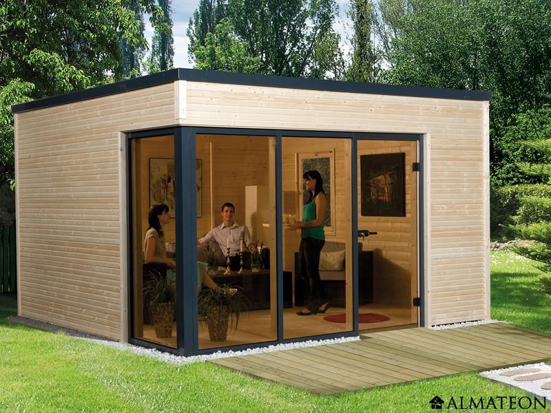 Cabane de jardin bois design abri de jardin et balancoire id e - Maison de jardin design ...