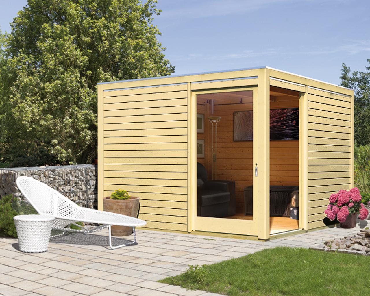 Abri de jardin toit plat la redoute - Abri de jardin et balancoire idée