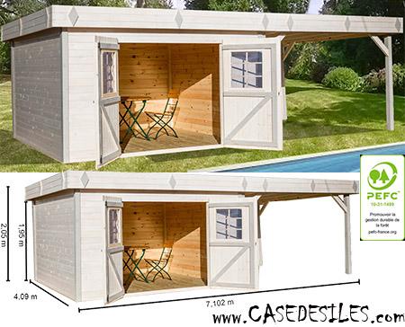 Abri jardin toit plat terrasse - Abri de jardin et ...