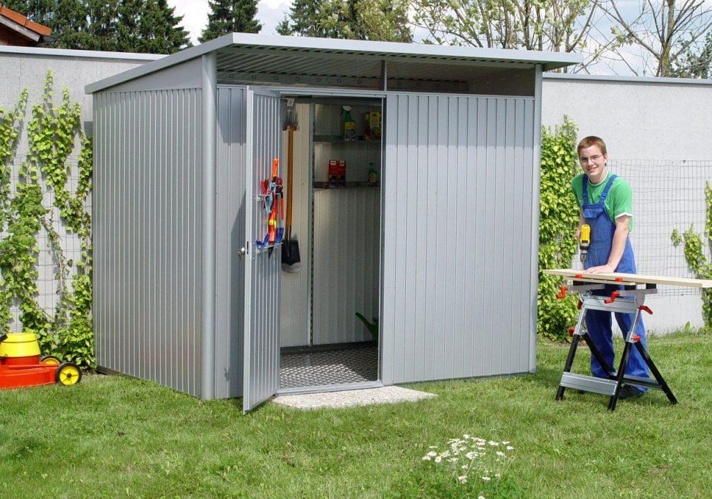 la meilleure attitude a48fb 9932f Abri jardin aluminium double paroi - Abri de jardin et ...