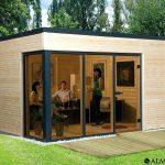 Abri jardin habitable design