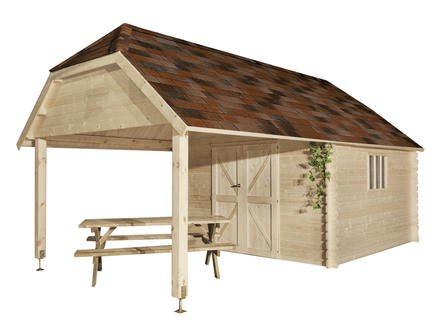 Cabane de jardin hubo - Abri de jardin et balancoire idée