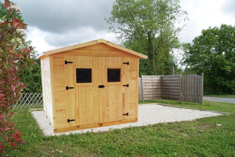 Promo cabane de jardin - Abri de jardin et balancoire idée