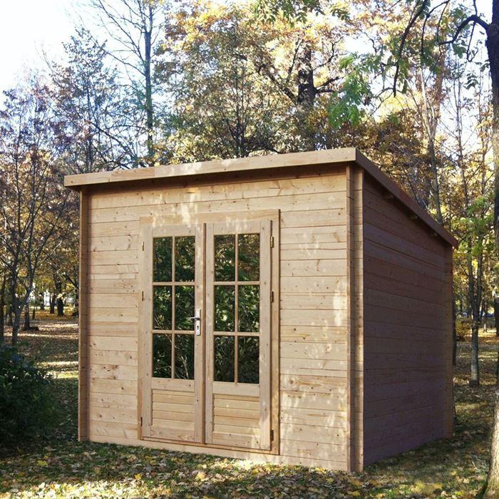 Cabane de jardin 3 x 3 abri de jardin et balancoire id e - Balancoire bois belgique ...