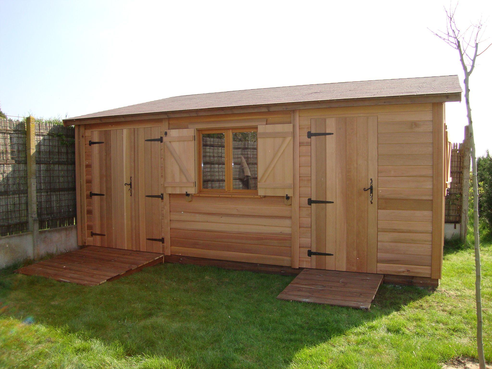 Fabriquer une cabane de jardin en palette - Abri de jardin et ... 2792937c82f7