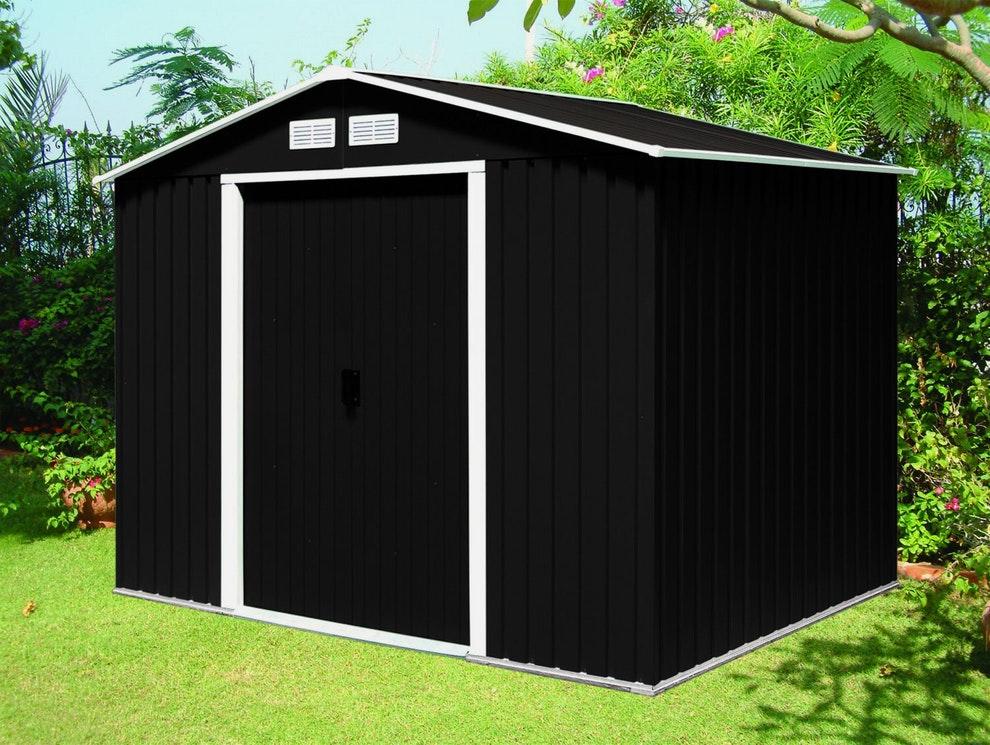 abris de jardin metal montage facile abri de jardin et. Black Bedroom Furniture Sets. Home Design Ideas