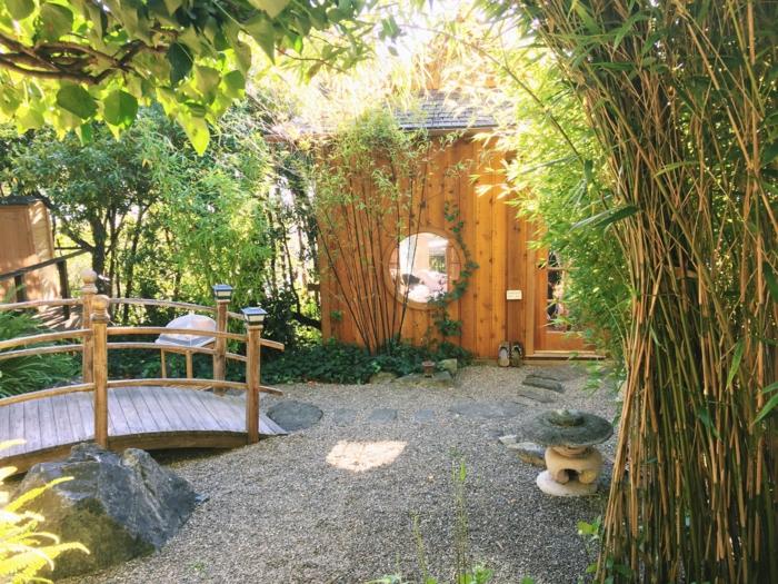 Cabane De Jardin Zen Abri De Jardin Et Balancoire Idee