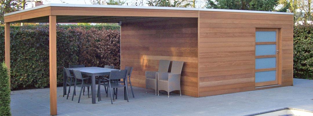Cabane de jardin en bois moderne