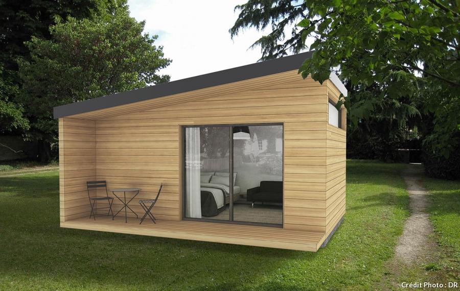 maison bois occasion