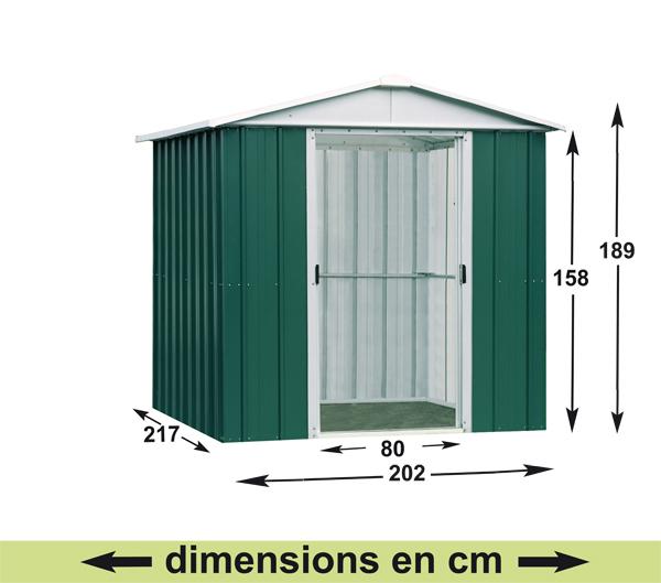 Abri jardin metal plan abri de jardin et balancoire id e - Notice de montage abri de jardin ...
