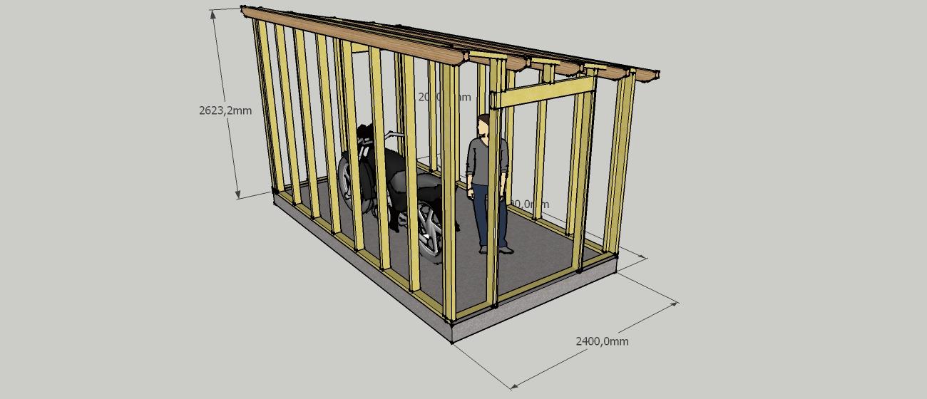 Plan d\'abri de jardin en bois gratuit - Abri de jardin et ...