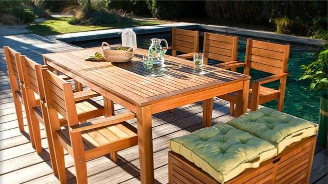 Salon de jardin bois la redoute abri de jardin et balancoire id e - La redoute salon jardin ...