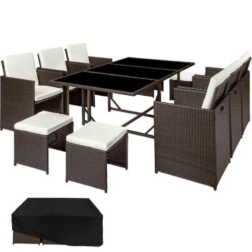 petit salon de jardin en r sine tress e pas cher abri de. Black Bedroom Furniture Sets. Home Design Ideas