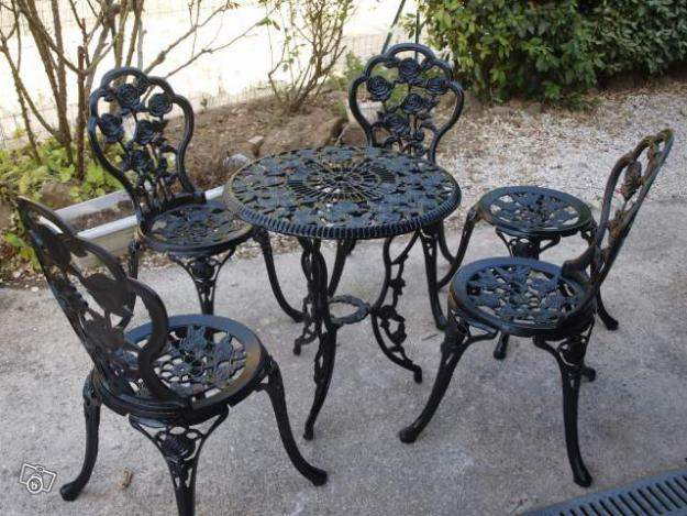 De Table Jardin Ancienne House Contemporary Awesome Fer ...