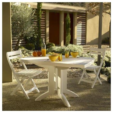 Salon de jardin grosfillex vega 4 blanc - Abri de jardin et ...