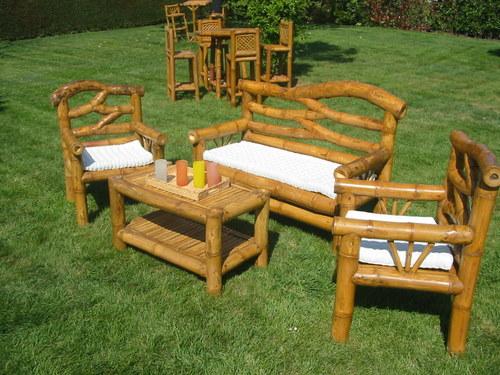 Acheter salon de jardin en bambou   Abri de jardin et balancoire idée