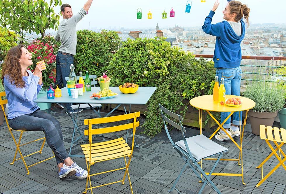 Salon de jardin pliant truffaut - Abri de jardin et balancoire idée